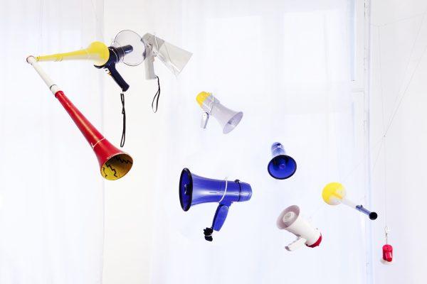 Participatory sound installation